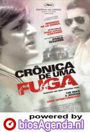 Braziliaanse poster Cronica de uma Fuga