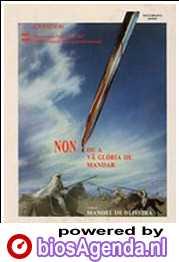 Poster Non, ou a vâ glória de mandar