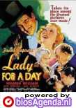 Poster Lady for a Day