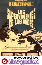 Poster Los supervivientes de los Andes