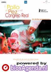 Poster El pollo, el pez y el cangrejo real