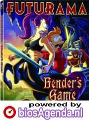 DVD-hoes Futurama: Bender's Game