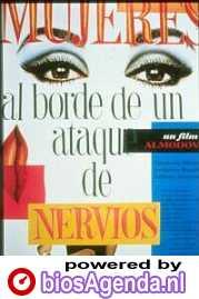 Poster van 'Mujeres al Borde de un Ataque de Nervios' © 1988