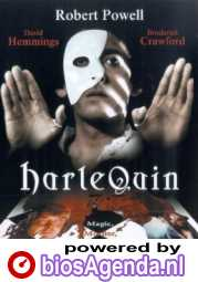 Harlequin poster, copyright in handen van productiestudio en/of distributeur