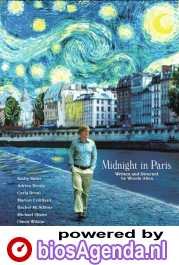 Midnight in Paris poster, copyright in handen van productiestudio en/of distributeur