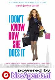 I Don't Know How She Does It poster, copyright in handen van productiestudio en/of distributeur