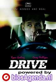 Drive poster, copyright in handen van productiestudio en/of distributeur