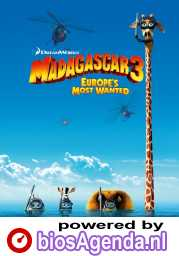 Madagascar 3: Europe's Most Wanted poster, copyright in handen van productiestudio en/of distributeur