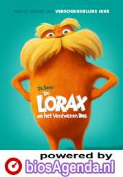 Dr. Seuss' The Lorax poster, copyright in handen van productiestudio en/of distributeur