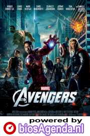 The Avengers poster, copyright in handen van productiestudio en/of distributeur