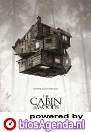 The Cabin in the Woods poster, copyright in handen van productiestudio en/of distributeur