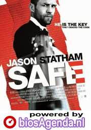 Safe poster, © 2012 E1 Entertainment Benelux