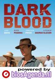 Dark Blood poster, copyright in handen van productiestudio en/of distributeur