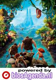 The Croods poster, copyright in handen van productiestudio en/of distributeur