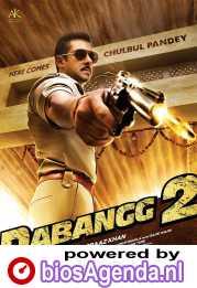 Dabangg 2 poster, copyright in handen van productiestudio en/of distributeur