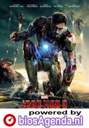 Iron Man 3 poster, copyright in handen van productiestudio en/of distributeur