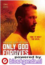 Only God Forgives poster, © 2013 Cinéart