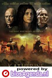 Katherine of Alexandria poster, copyright in handen van productiestudio en/of distributeur