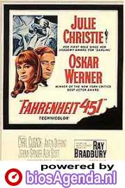 poster 'Fahrenheit 451' © 1966