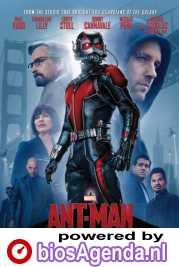 Ant-Man poster, © 2015 Walt Disney Pictures