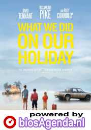 What We Did on Our Holiday poster, © 2014 Amstelfilm