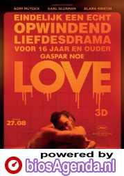 Love poster, © 2015 Cinéart