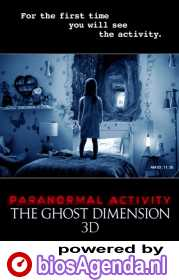Paranormal Activity: Ghost Dimension poster, © 2014 Universal Pictures International
