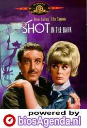 A Shot in the Dark poster, copyright in handen van productiestudio en/of distributeur