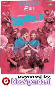 Jigarthanda poster, copyright in handen van productiestudio en/of distributeur