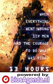 13 Hours: The Secret Soldiers of Benghazi poster, © 2016 Universal Pictures International