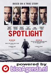 Spotlight poster, © 2015 Entertainment One Benelux