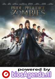 Pride and Prejudice and Zombies poster, © 2016 Independent Films