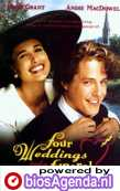 Poster 'Four Weddings and a Funeral' © 1994 PolyGram Filmed Entertainment