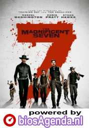 The Magnificent Seven poster, © 2016 Universal Pictures International