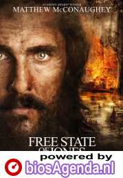 The Free State of Jones poster, © 2016 Entertainment One Benelux