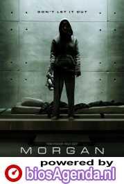 Morgan poster, copyright in handen van productiestudio en/of distributeur