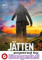 Jätten poster, copyright in handen van productiestudio en/of distributeur
