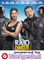 Raid dingue poster, copyright in handen van productiestudio en/of distributeur