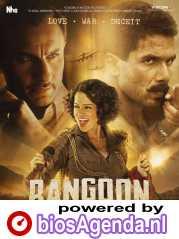 Rangoon poster, copyright in handen van productiestudio en/of distributeur