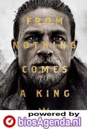 King Arthur: Legend of the Sword poster, © 2017 Warner Bros.