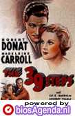 Poster 'The 39 Steps' © 1935 Gaumont British Picture Corporation of America