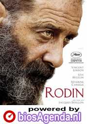 Rodin poster, © 2017 Cinéart