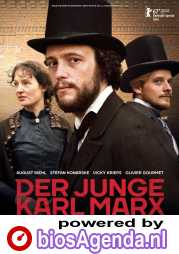 Le jeune Karl Marx poster, copyright in handen van productiestudio en/of distributeur