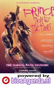 Sign 'o' the Times poster, copyright in handen van productiestudio en/of distributeur