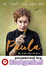 Paula poster, copyright in handen van productiestudio en/of distributeur