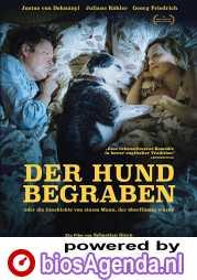 Der Hund begraben poster, copyright in handen van productiestudio en/of distributeur