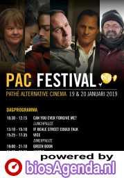 PAC Festival poster, copyright in handen van productiestudio en/of distributeur