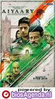 Aiyaary poster, copyright in handen van productiestudio en/of distributeur