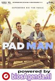Padman poster, copyright in handen van productiestudio en/of distributeur