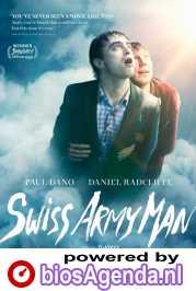Swiss Army Man poster, copyright in handen van productiestudio en/of distributeur